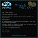 warcloud_welcome_email thumbnail
